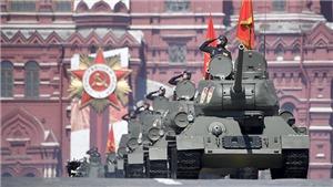 TRỰC TIẾP: Duyệt binh kỷ niệm 75 năm chiến thắng trong Chiến tranh Vệ quốc vĩ đại trên Quảng trường Đỏ