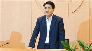 Bộ Chính trị đình chỉ sinh hoạt Ban Chấp hành Đảng bộ, Ban Thường vụ Thành ủy Hà Nội và đình chỉ chức vụ Phó Bí thư Thành ủy Hà Nội đối với ông Nguyễn Đức Chung