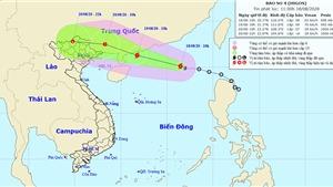 Tin bão khẩn cấp cơn bão số 4, thủy điện Lai Châu xả lũ