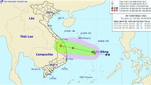 Áp thấp nhiệt đới đang mạnh lên, miền Trung lũ chồng lũ