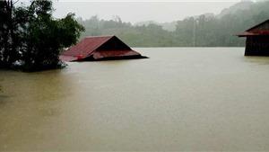 Miền Trung tiếp tục có mưa rất to, nguy cơ sạt lở đất và lũ quét cao