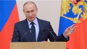 Tổng thống Nga Vladimir Putin gửi lời chúc Năm mới và Tết cổ truyền của Việt Nam