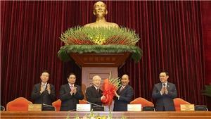 Ra mắt Ban Chấp hành Trung ương Đảng khóa XIII, Đồng chí Nguyễn Phú Trọng tái đắc cử Tổng Bí thư
