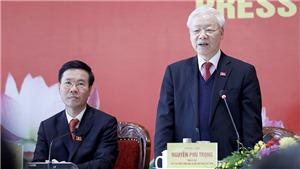 Họp báo công bố kết quả Đại hội XIII của Đảng