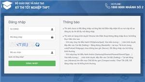 Tra cứu điểm thi THPT Quốc gia 2021 qua http://thisinh.thithptquocgia.edu.vn/account/login