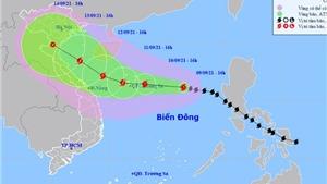 Bão số 5 giật cấp 11, Quảng Nam đến Khánh Hòa có mưa rất to