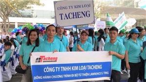 Tacheng 15 năm đồng hành cùng chương trình Đi bộ từ thiện Lawrence S. Ting
