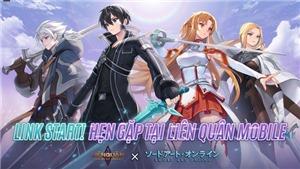 CHÍNH THỨC: Garena Liên Quân Mobile hợp tác với Sword Art Online