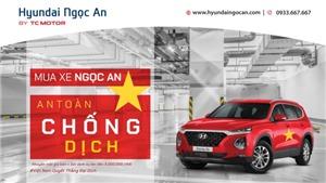 Hyundai SantaFe và những khuyến mãi tại Hyundai Ngọc An