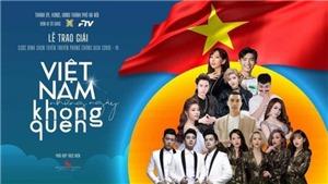 Đài PT-TH Hà Nội phát sóng trực tiếp Lễ trao giải Cuộc bình chọn 'Việt Nam những ngày không quên'
