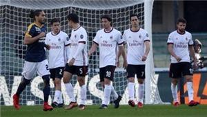 Video clip highlights bàn thắng trận Verona 3-0 Milan