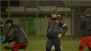 Thủ môn U23 Việt Nam tập nặng trước trận đấu với Hàn Quốc