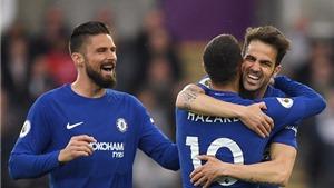 Video clip highlights bàn thắng Swansea 0-1 Chelsea: Fabregas tỏa sáng