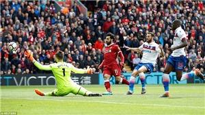 Video clip highlights trận Liverpool 0-0 Stoke: Salah bỏ lỡ cơ hội khó tin