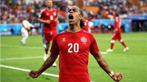 Video clip bàn thắng trận Peru 0-1 Đan Mạch