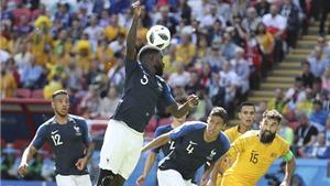 Video clip bàn thắng trận Pháp 2-1 Australia: Ứng viên vô địch thắng nhọc
