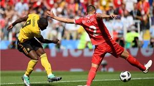 Video clip bàn thắng Bỉ 5-2 Tunisia: Lukaku và Hazard tỏa sáng
