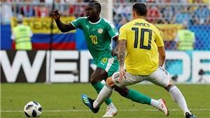 Video clip bàn thắng Senegal 0-1 Colombia: Senegal bị loại vì... điểm fair-play