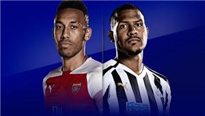 Xem trực tiếp Arsenal vs Newcastle (2h00, 2/4). Trực tiếp ngoại hạng Anh