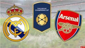 Link xem trực tiếp bóng đá Real Madrid vs Arsenal(06h00 ngày 24/7)