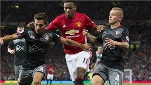Lịch thi đấu và trực tiếp bóng đá Anh hôm nay: Southampton đấu với MU