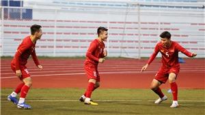 Đội hình xuất phát U22 Việt Nam đấu Brunei: Quang Hải, Văn Hậu, và Tiến Linh dự bị