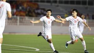 Đội hình xuất phát U22 Việt Nam đấu với Thái Lan: Văn Toản bắt chính, Trọng Hoàng đá tiền đạo cánh