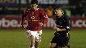 15 năm trước, Cristiano Ronaldo đã bị một cầu thủ nghiệp dư 'chơi xỏ' thế nào?