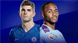 Link xem trực tiếp bóng đá. Chelsea vsMan City. Trực tiếp bóng đá Anh. K+, K+PM