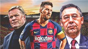 Năm lý do khiến Messi chia tay Barca