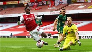 Trực tiếp Arsenal vs Sheffield. Trực tiếp bóng đá Ngoại hạng Anh. K+PM