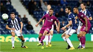 Link xem trực tiếp Man City vs West Brom. Trực tiếp bóng đá Ngoại hạng Anh vòng 12