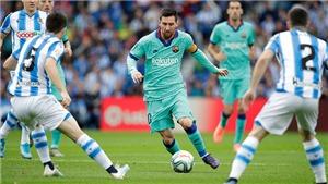 Link xem trực tiếp Barcelona vs Real Sociedad. Trực tiếp bóng đá La Liga vòng 14