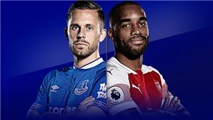Link xem trực tiếp Everton vs Arsenal. Trực tiếp bóng đá Ngoại hạng Anh vòng 14