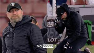 HLV Southampton quỳ xuống sân rồi bật khóc sau trận thắng Liverpool