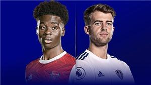 Link xem trực tiếp Arsenal vs Leeds. K+, K+PM trực tiếp bóng đá Ngoại hạng Anh