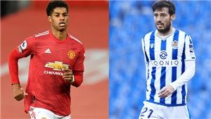 Link xem trực tiếpSociedad vs MU. K+, K+PM trực tiếp bóng đá Cúp C2 châu Âu