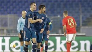Video clip bàn thắng trận Arsenal vs Benfica