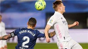 Video clip bàn thắng trận Celta Vigo vs Real Madrid