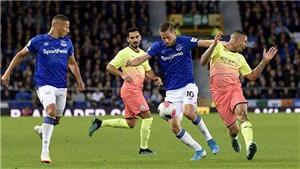 Video clip bàn thắng trận Everton vs Man City