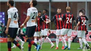 Milan 2-1 Genoa: Chiến thắng xấu xí của Rossoneri
