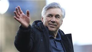 Carlo Ancelotti chính thức trở lại dẫn dắt Real Madrid