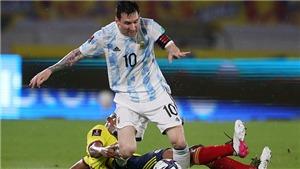 Vòng loại World Cup 2022: Argentina mất điểm phút bù giờ dù dẫn 2 bàn