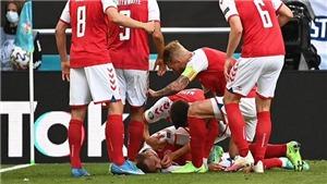 Video khoảnh khắc Eriksen đổ gục xuống sân bất tỉnh