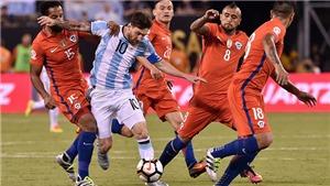 Video clip bàn thắng trận Argentina vs Chile