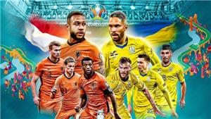 Video clip bàn thắng trận Hà Lan vs Ukraine
