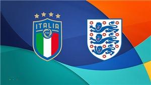 Lịch thi đấu chung kết EURO 2021: Ý đấu với Anh. VTV3 VTV6 trực tiếp bóng đá ngày 11/7/2021