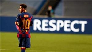 Messi họp báo tại Camp Nou vào 17h hôm nay