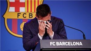 Toàn văn bài phát biểu chia tay Barcelona của Leo Messi
