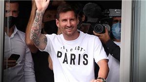 Messi đã có mặt ở Paris để ký hợp đồng với PSG